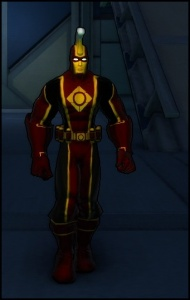 Golden Age version of the suit
