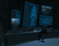 The Storm Center, Black Storm's base of operations.